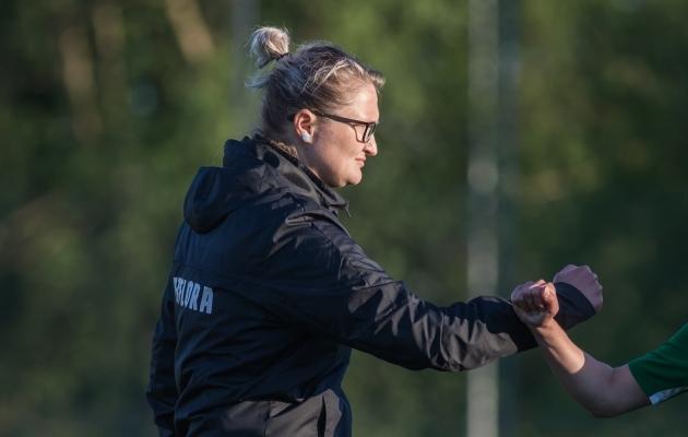 Aleksandra Ševoldajeva. Foto: Jana Pipar / jalgpall.ee