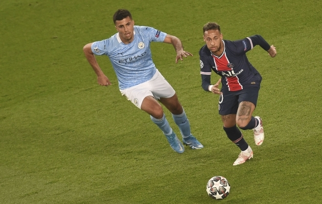 Neymar (paremal). Foto: Scanpix / SIPA / John Spencer