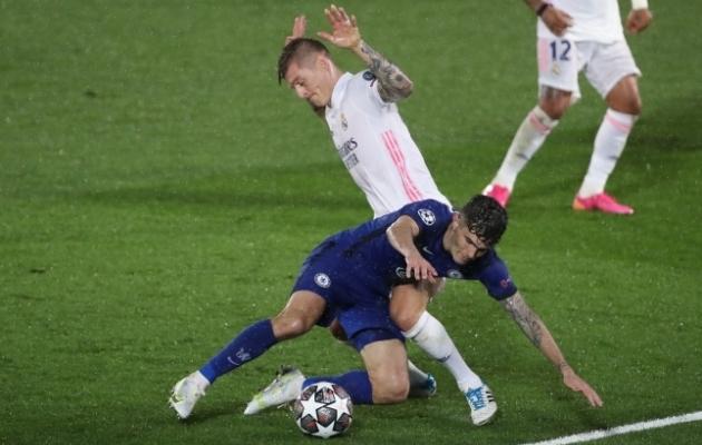 Madridi Reali ja Londoni Chelsea avamäng lõppes 1:1 viigiga. Foto: Scanpix / zumapress.com /  IndiraDAX via ZUMA Wire