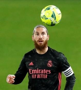Madridi Reali kapten Sergio Ramos. Foto: Scanpix / Reuters / Juan Medina