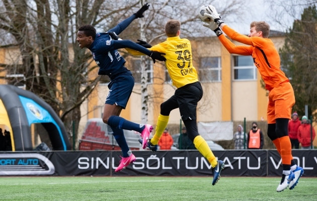 Vaprus käis viimati Premium liigas väljakul 25. aprillil. Foto: Liisi Troska / jalgpall.ee