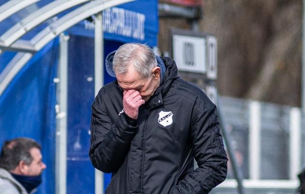 Nõmme Kalju peatreener Sergei Frantsev. Foto: Jana Pipar / jalgpall.ee