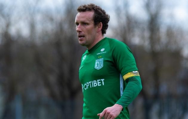 FC Flora kapten Konstantin Vassiljev. Foto: Liisi Troska / jalgpall.ee