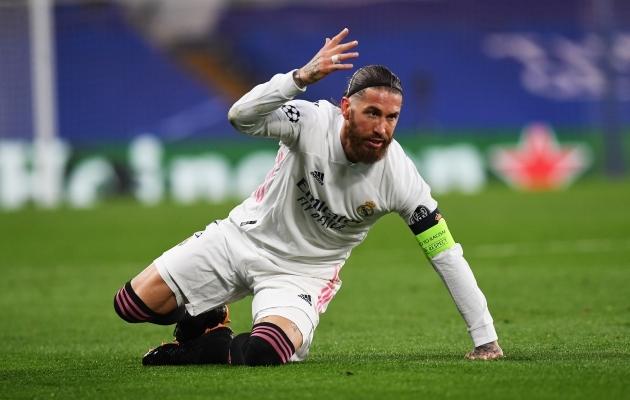 Kuhu ja kuidas edasi? Ainutl 35-aastasele Sergio Ramosele toetudes Real Madrid kaugele ei sõida. Foto: Scanpix / EPA / Neil Hall