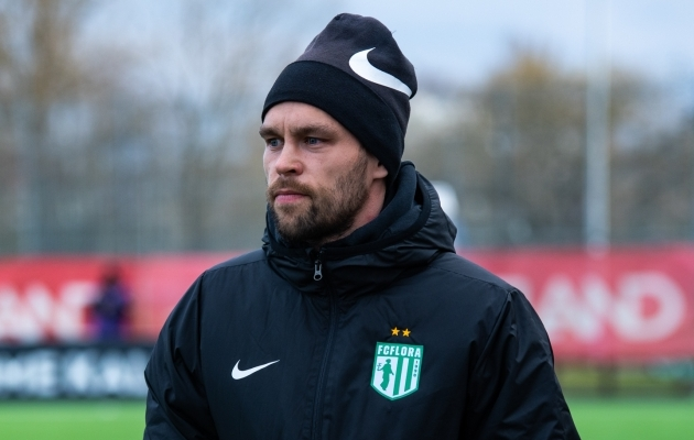 Flora peatreener Jürgen Henn. Foto: Liisi Troska / jalgpall.ee