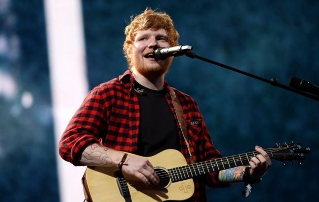Ed Sheeran. Foto: Scanpix / Yui Mok / PA Images