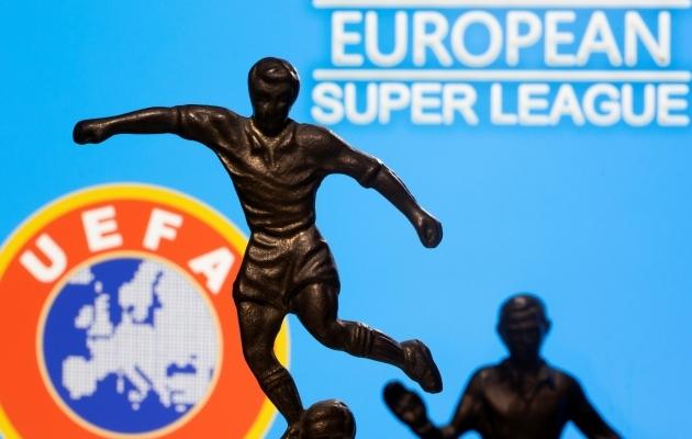 UEFA määras üheksale Superliiga klubile karistused. Foto: Scanpix / Reuters / Dado Ruvic