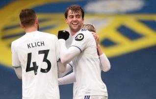 Leeds lõi Tottenhamile kolm väravat ja tõusis üheksandaks