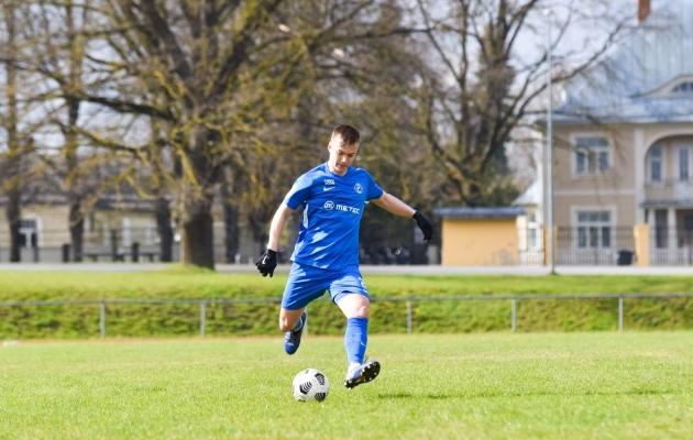 Karl Läänelaid. Foto: Liisi Troska / jalgpall.ee
