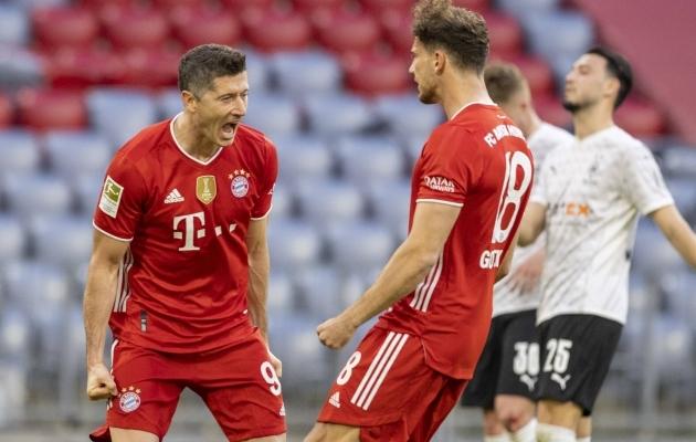 Robert Lewandowski on sel hooajal pidurdamatu. Foto: Scanpix / Imago images / Moritz Müller