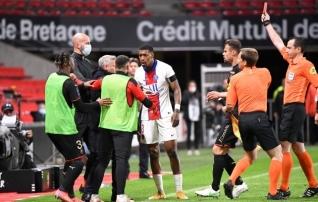PSG lasi asja jälle koledaks ning Lille on meistritiitlist nelja punkti kaugusel