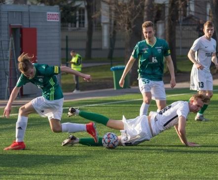 VAATA JÄRELE: mõlemad eksisid penaltil, kuid Levadia haaras lõpuminutitel miniderbis võidu  (galerii!)
