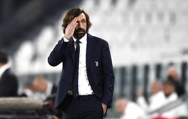 Juventuse peatreener Andrea Pirlo. Foto: Scanpix / imago images / Gribaudi / ImagePhoto