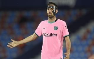 Busquets tunnistas, et Barcelona tiitlilootus on praktiliselt kadunud