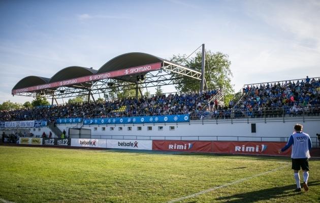 Jalgpallihuvi on Rakveres arvestatav, nagu tõestas 2018. aastal seal peetud koondisemäng. Foto: Brit Maria Tael