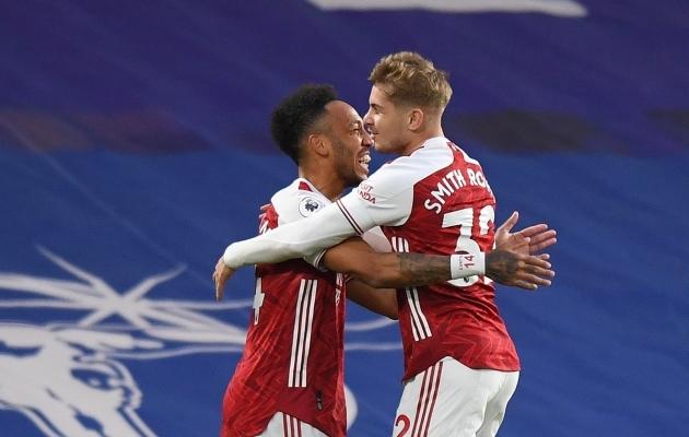 Haruldus: Arsenali mängijad on võitnud lausa kolm mängu järjest, mis on neis taastekitanud eurosarja lootused. Foto: Scanpix / Mark Pain / PA Images