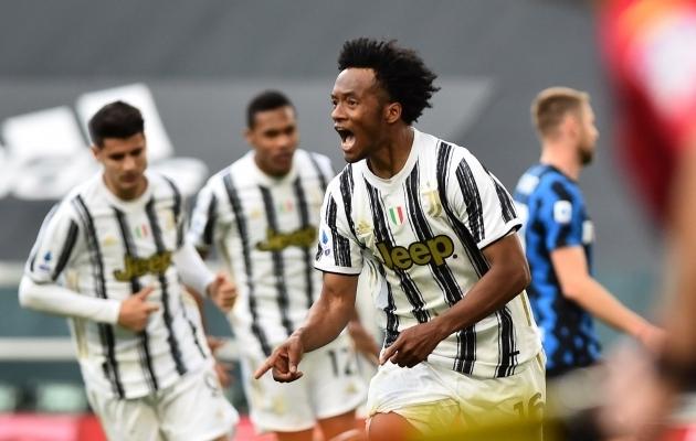 Juan Cuadrado (esiplaanil) lõi Torino Juventuse võiduvärava. Foto: Scanpix / Massimo Pinca / Reuters