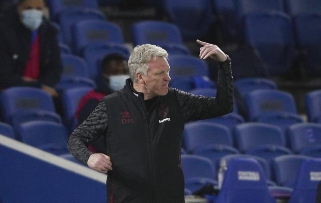West Hami peatreener David Moyes. Foto: Scanpix / Ian Walton / AP Photo