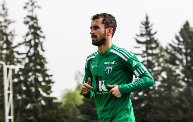 Zakaria Beglrišvili on väga resultatiivne jalgpallur. Foto: Markus Mangusson