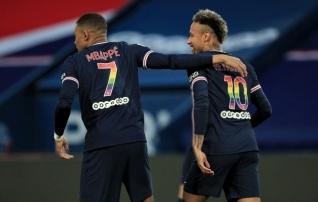 PSG sai suure võidu, viigi teinud Lille'i edu kahanes viimase vooru eel ühele punktile