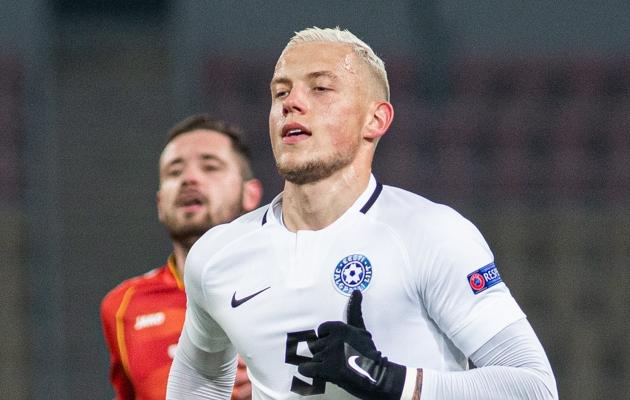 Eesti koondise ründaja Erik Sorga. Foto: Jana Pipar / jalgpall.ee