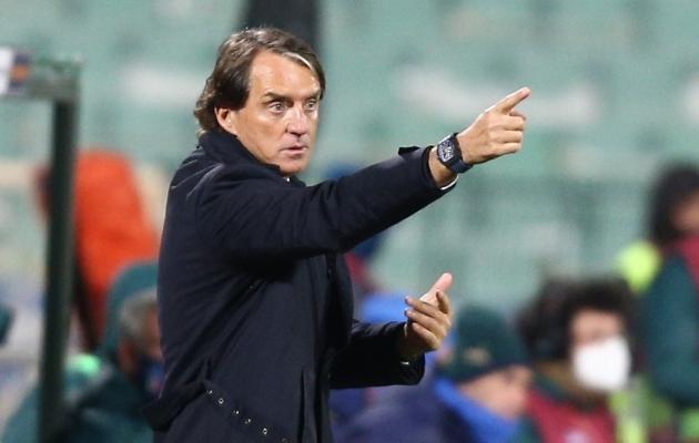 Roberto Mancini saab senist tööd jätkata. Foto: Scanpix / Reuters / Stoyan Nenov