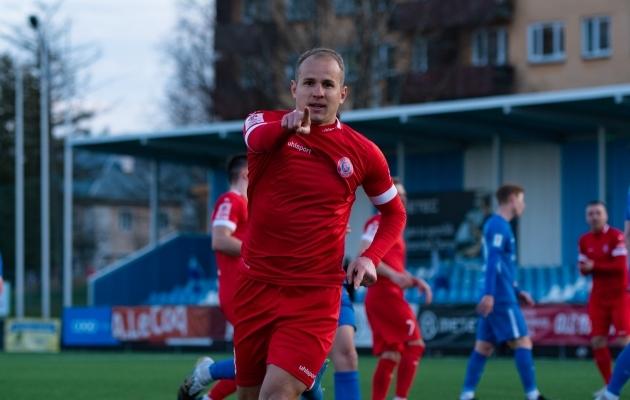 Nikita Andrejev. Foto: Liisi Troska / jalgpall.ee