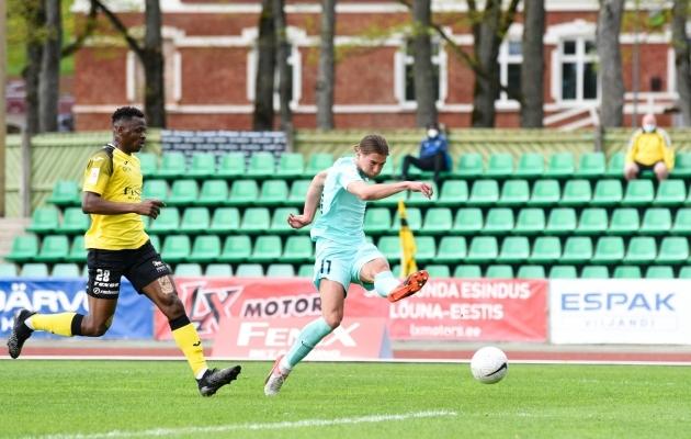 Silver Alex Kelder. Foto: Liisi Troska / jalgpall.ee