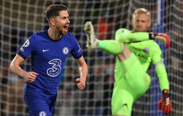 Jorginho penalti vormistas Chelsea võidu. Foto: Scanpix / Reuters / Catherine Ivill