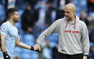 Guardiola paljastas saladuse: Agüero hakkab mängima kõigi aegade parima mängija kõrval