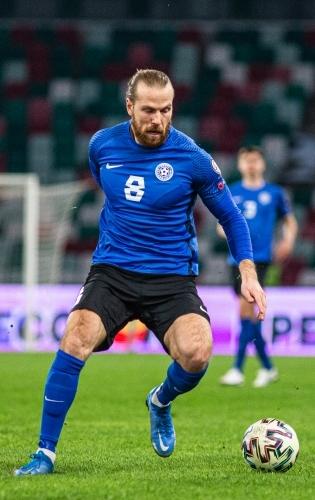 Eesti koondise ründaja Henri Anier. Foto: Jana Pipar / jalgpall.ee
