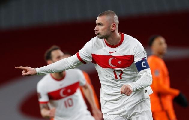 Kui Türgi mängib nii nagu MM-valikmängus Hollandi vastu, on kõik võimalik. Foto: Scanpix / AFP / Murad Sezer