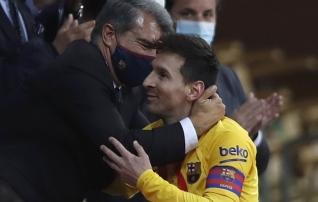 Barcelona president keelitab Messit jääma ja ähvardab UEFA-t spordikohtuga