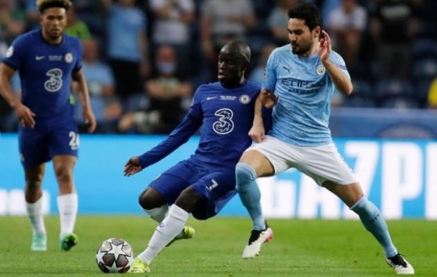 Londoni Chelsea poolkaitsja N'Golo Kante (vasakul) tegi Meistrite liiga finaalis hiilgava partii. Foto: Scanpix / AFP / Manu Fernandez