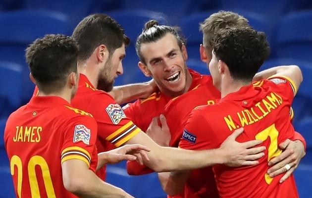 Gareth Bale on Walesi koondise liider EM-finaalturniiril. Foto: Scanpix / Nick Potts / PA Wire / PA Images