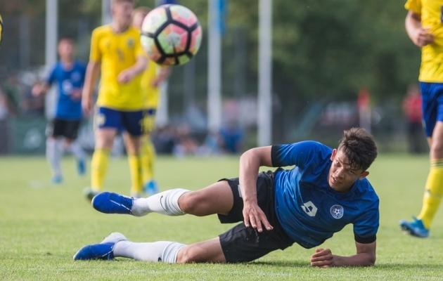 Taaniel Usta. Foto: Jana Pipar / jalgpall.ee