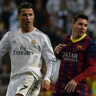 Meenutus ajast, kui Hispaania kõrgliigas mängisid tolle hetke maailma kaks parimat jalgpallurit. Foto: Scanpix / AFP / Gerard Julien