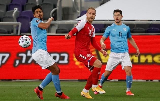 Taani mäng toetub Christian Eriksenile, aga mitte ainult. Foto: Scanpix / AFP / Jack Guez