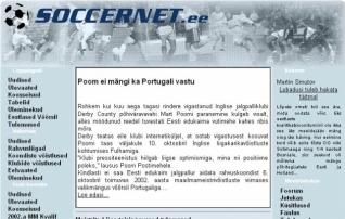 Sünnipäev! Soccernet.ee - 20 aastat jalgpalliajakirjandust