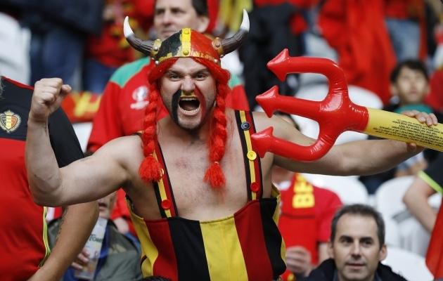 Punaste kuradite fännid on alati omasid värvikalt toetanud ja piirangutest hoolimata tehakse sama kindlasti ka tänavusel turniiril. Foto: Scanpix / AP Photo / Frank Augstein