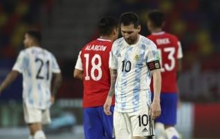 90 minutit juhtinud Argentina andis Kolumbia vastu edu käest