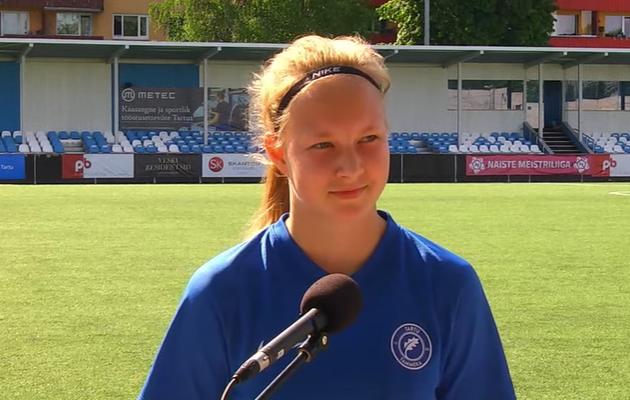 Marie Kiivit. Foto: Soccernet.ee
