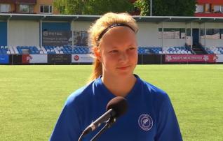 Vapruse vastu värava löönud 15-aastane Kiivit: võistkond on imeline, kõik on väga positiivne