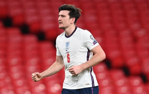 Harry Maguire'i puudumine võib inglaste taktika pea peale pöörata. Foto: Scanpix / EPA / Andy Rain