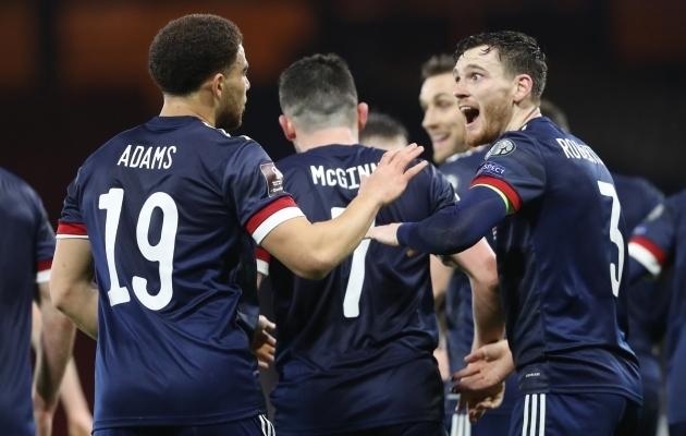 Šotlased mängivad 23-aastase pausi järel tiitlivõistlustel. Foto: Scanpix / Russell Cheyne / Reuters