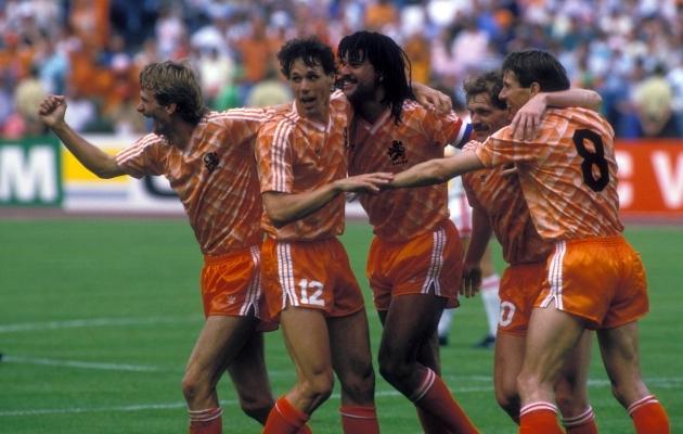 1988. aasta EM-tiitel on siiani Hollandi jalgpallikoondise ainuke esikoht. Foto: Scanpix / imago