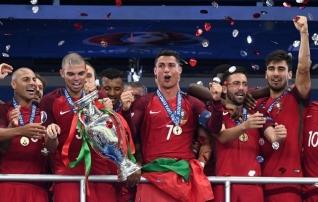 EM 2016 | Ronaldo kehastus treeneriks, täitis enda ja rikkus Prantsusmaa unistuse