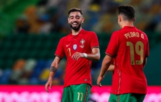 Portugal alistas viimases EM-i eelses kontrollmängus poolaegade lõpus löödud väravatest Iisraeli