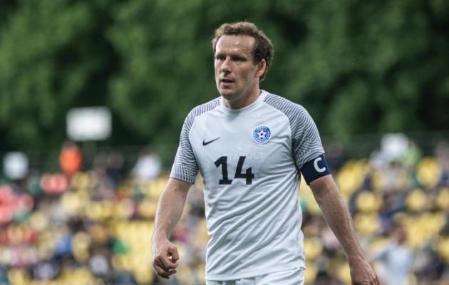Eesti jalgpallikoondise kapten Konstantin Vassiljev. Foto: Jana Pipar / jalgpall.ee