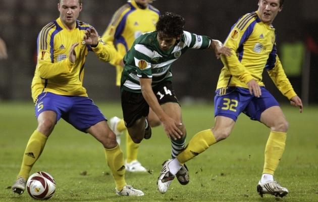 Ventspilsi kõrghetk: hooajal 2009-10 madistati Euroopa liigas selliste klubidega nagu Lissaboni Sporting, Berliini Hertha ja Heerenveen. Foto: Scanpix / Reuters / Ints Kalnins